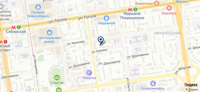 Электросиб на карте