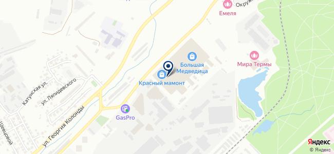 Лучиссо на карте