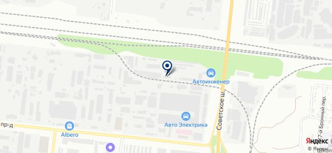 Сибирская Спутниковая База на карте
