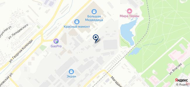 Элевел Новосибирск, ЗАО на карте