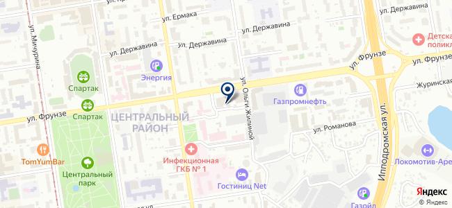 Сибстройгаз на карте