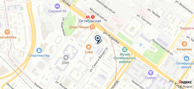 Сибавтоматика-Новосибирск, ООО на карте