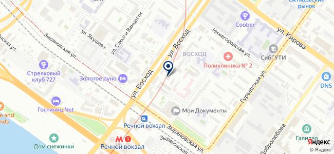 Энергомера-Новосибирск, ООО на карте