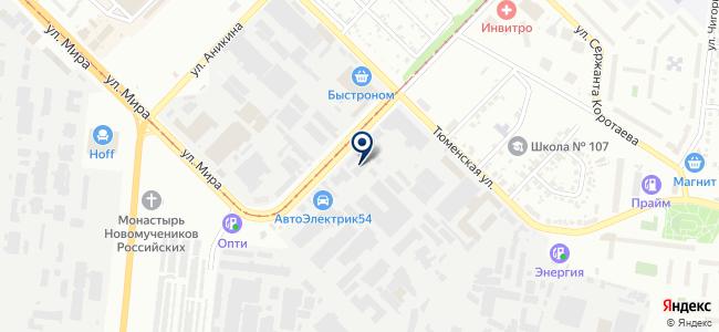 Кардинал, ЗАО на карте