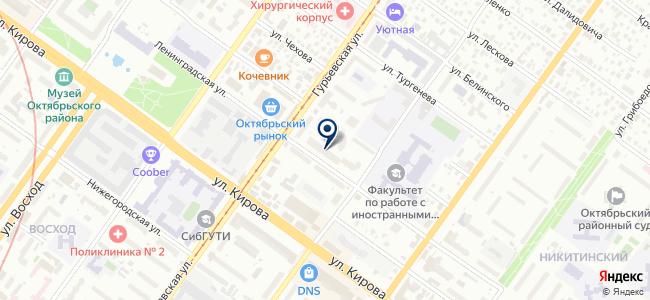 Сибэлкон, ООО на карте