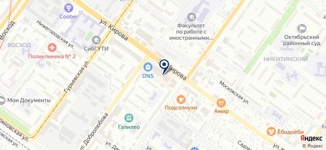 СибПрибор на карте