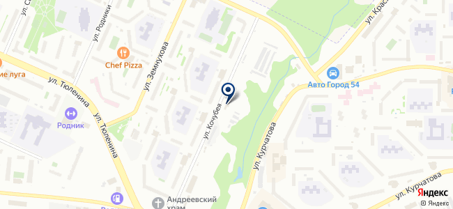 Springfield на карте