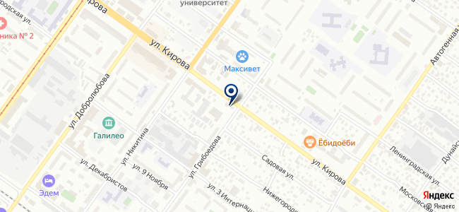 Центр крепежных технологий на карте