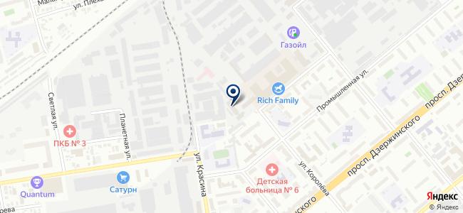 Завод полимерных изоляторов, ЗАО на карте
