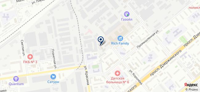 Комета-Энергомаш, ЗАО на карте