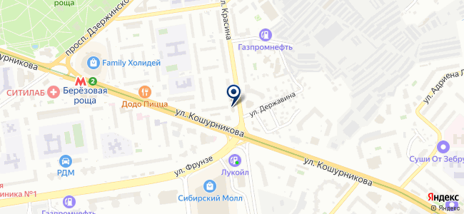 Деловая-Сибирь, ООО на карте