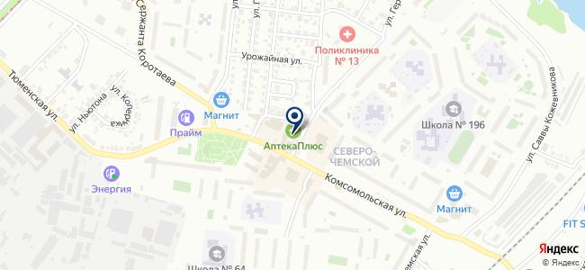 Магазин сантехники и электроинструмента на карте