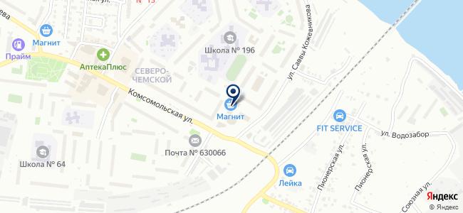 Аркада, ООО на карте