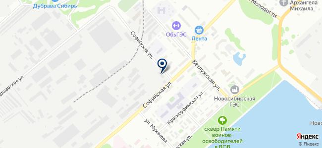 СибАкадемСервис, ООО на карте