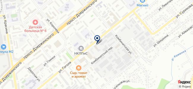 Центавр, ООО на карте