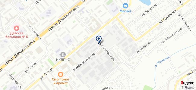 ТЕХНОКОН-Новосибирск, ООО на карте