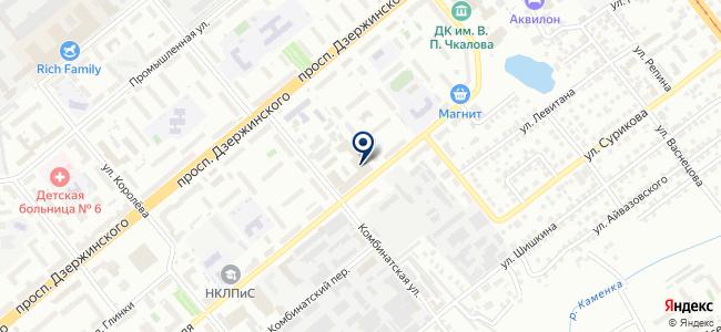 Триумф-НСК на карте