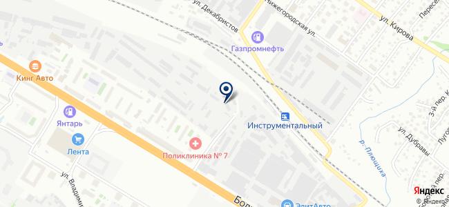 Гидрокомплект, ООО на карте