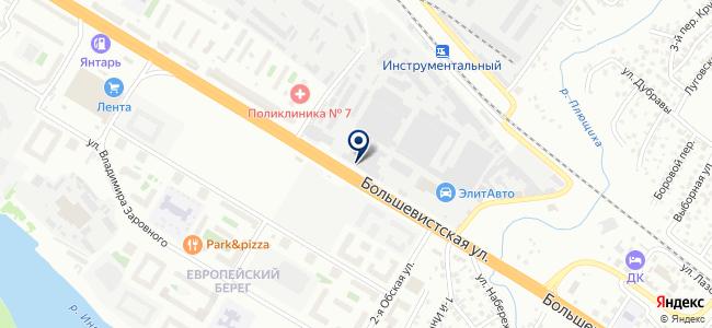 СК Инструмент, ООО на карте