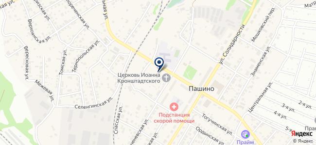 Магазин сантехники и электрики на карте