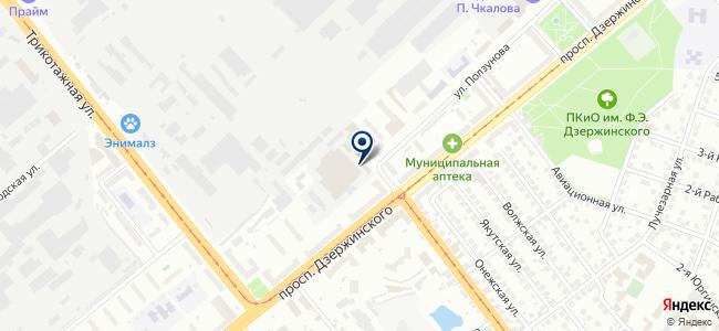 Атлас, ООО на карте