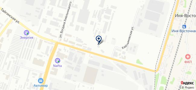 Электрон, ЗАО на карте