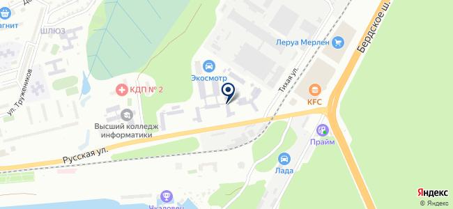 СИБЭКОПРИБОР на карте
