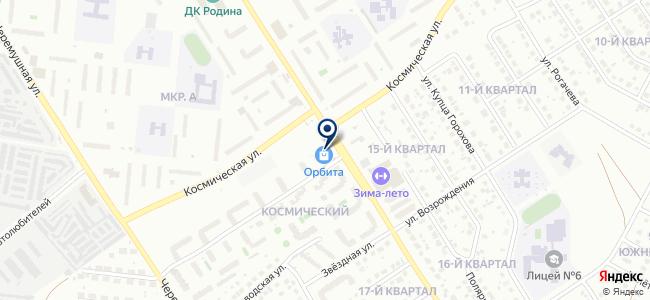 АВС-Инструмент на карте