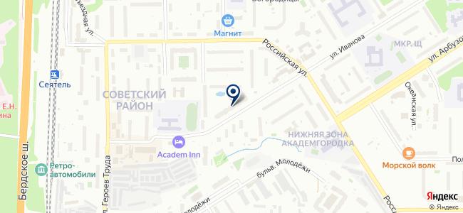 Магазин энергосберегающей светотехники на карте