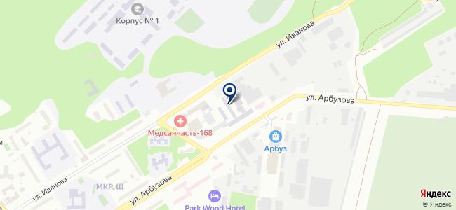 Магазин инструментов и отделочных материалов на карте