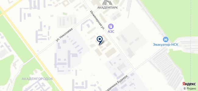 Техноскан, ЗАО на карте