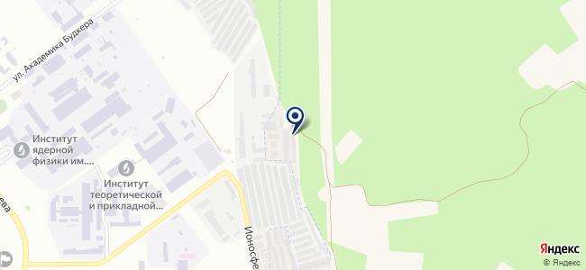 Академ-Хонда на карте