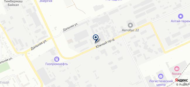 Сателлит на карте