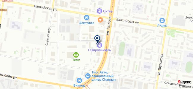 Аванта на карте