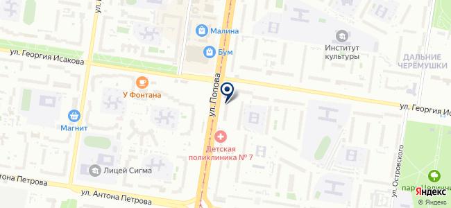 Агентство госзаказа на карте