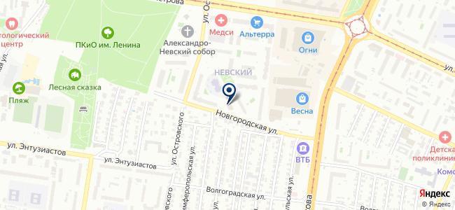Алтайские аукционы, ООО на карте