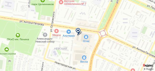 Игрума на карте