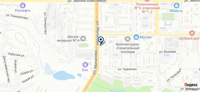 Техно-лэнд на карте