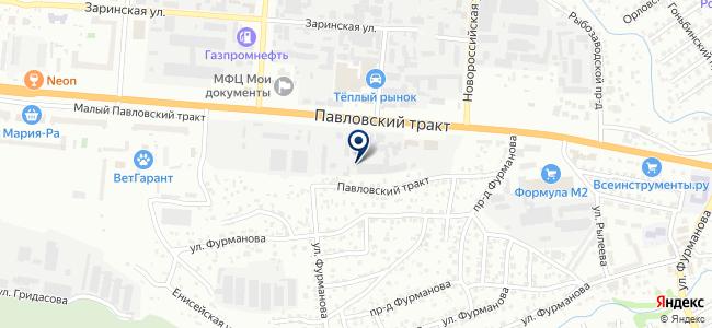 Елисеевский на карте