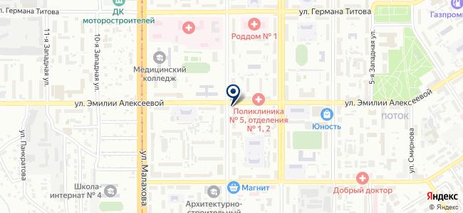 ДЭУ ЭНЕРТЕК АЛТАЙ на карте
