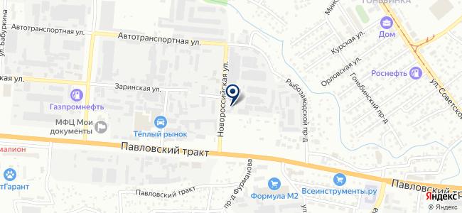 Алттранс на карте
