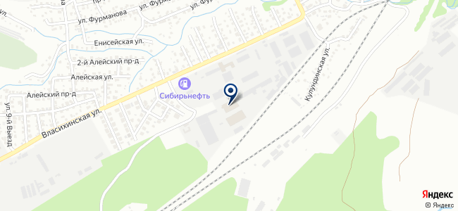 Клен на карте
