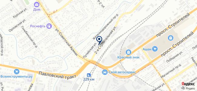 База ФЛЭШ на карте