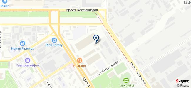 Ремприбор на карте
