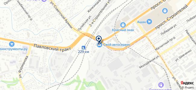 БОШ АВТОСЕРВИС, ООО на карте