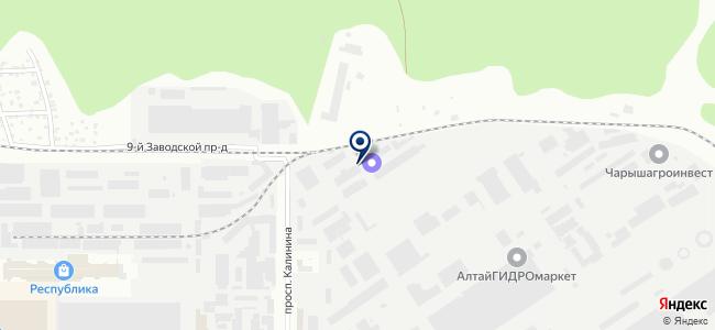 ТрансЭнерго на карте
