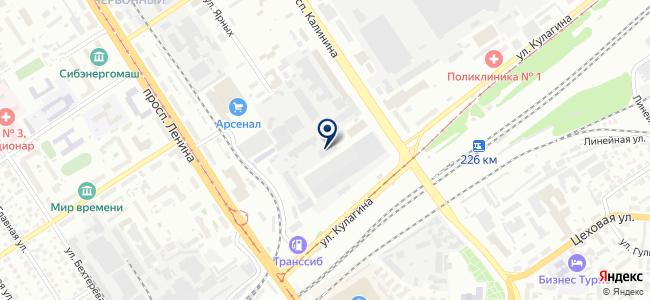 Алтайский геофизический завод, ООО на карте