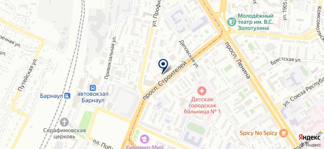 Квадро-Интерьер на карте