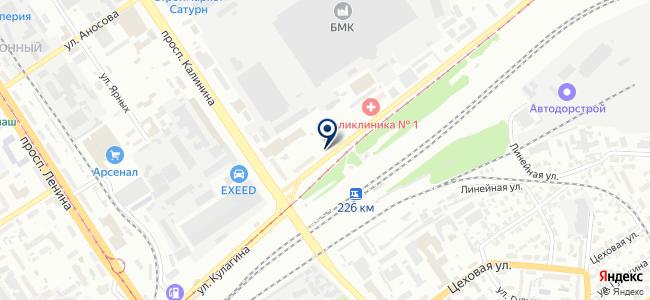 Инжект на карте