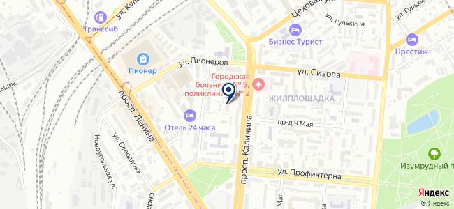 Каркас, ООО на карте